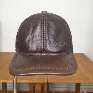 Accessories - Leather Insulated Baseball Cap with Ear Flaps f1d4849b91f